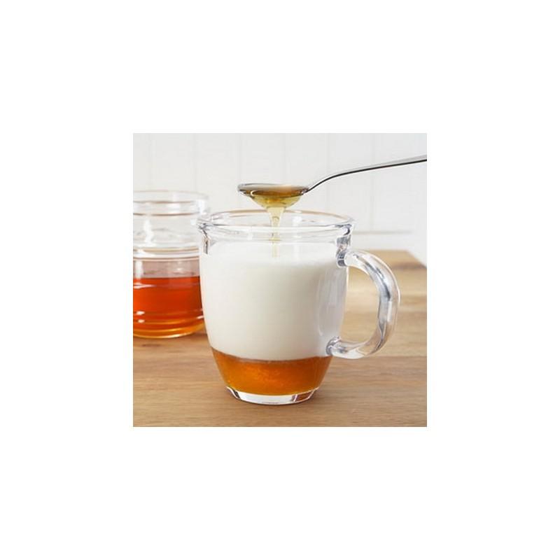 Lapte cald cu miere 250 ml