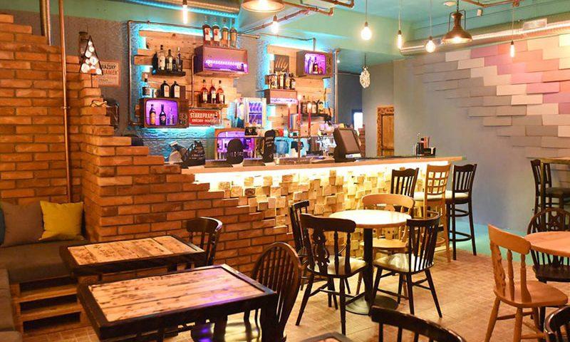 Urban Street Food & Bar Interior