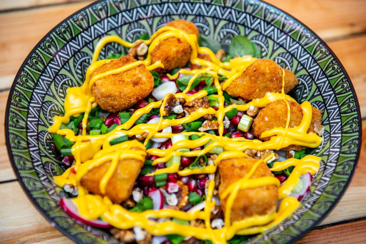 Salată cu Nuggets